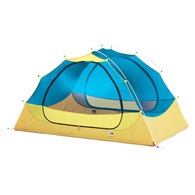 The North Face Talus Eco 3 Tente, stinger yellow/meridian blue